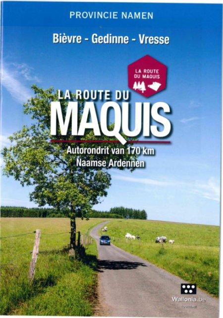 """Livret """"Route du Maquis"""" (NL)"""