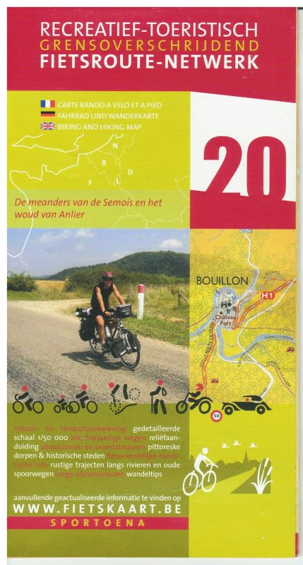 Carte Vélo-route