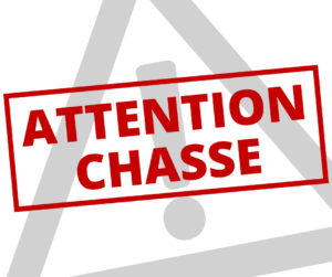Attention: chasse!